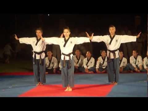 Biểu diễn kỹ thuật Taekwondo (Đội tuyển Quyền Quốc Gia)