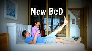 #80 Влог! Новая кровать! Шоппинг в H&M! Самый сонный кошка!