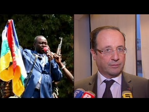Francois Hollande turns down CAR President's plea for help