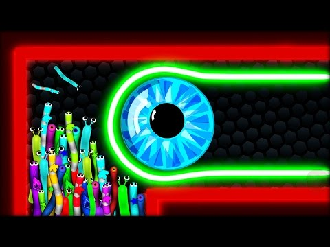 Slither.io - TINY HACKER SNAKE vs 98007 SNAKES | Epic Slitherio Gameplay (Slitherio Funny Moments)