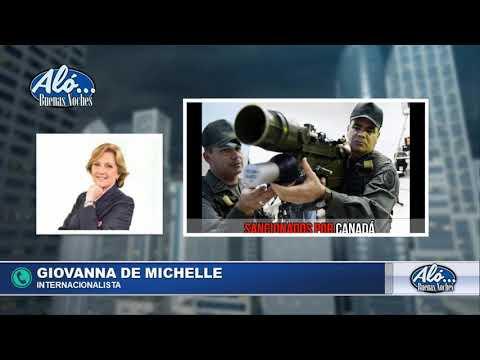 Giovanna De Michelle analiza nuevas sanciones a Maduro. Aló Buenas Noches Seg. 5