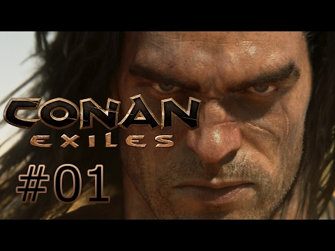 CONAN: EXILES Co-Op: Part 1: Conan: Survival Evolved (With Radian Gaming)
