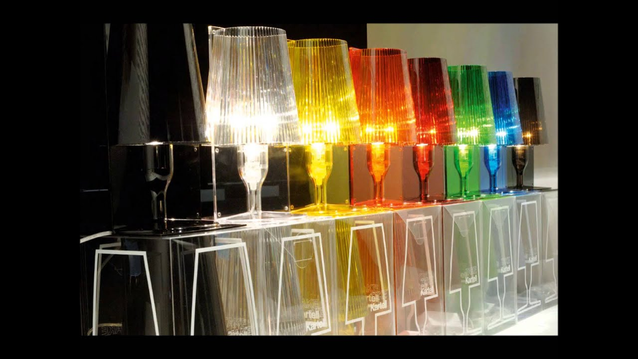 Kartell take table lamps ice interiors youtube kartell take table lamps ice interiors geotapseo Choice Image