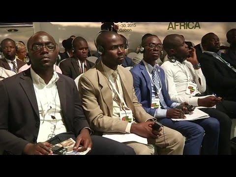 Gabon, Ouverture du New York Africa Forum 2015