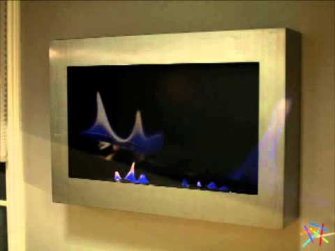 Anywhere Fireplace Soho Stainless Steel Indoor Fireplace - Product ...