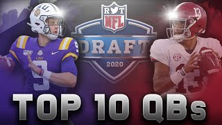 The Top 10 Quarterbacks in the 2020 NFL Draft