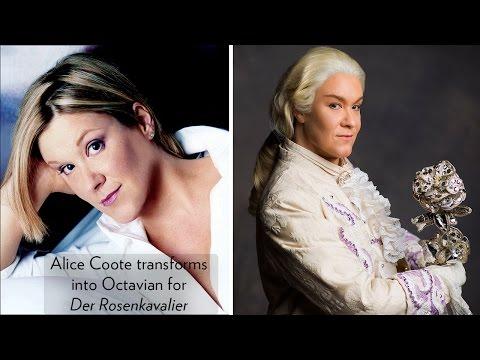 Watch Mezzo-soprano, Alice Coote, as she transforms into Octavian for Lyric's DER ROSENKVALIER