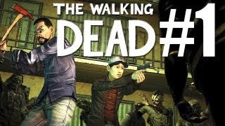 The Walking Dead - Episode 1_ A New Day #1 - Let's Play The Walking Dead Gameplay [deutsch/german]