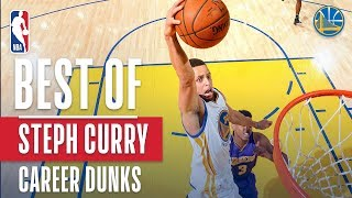 Best Of Stephen Curry's Career Dunks Video