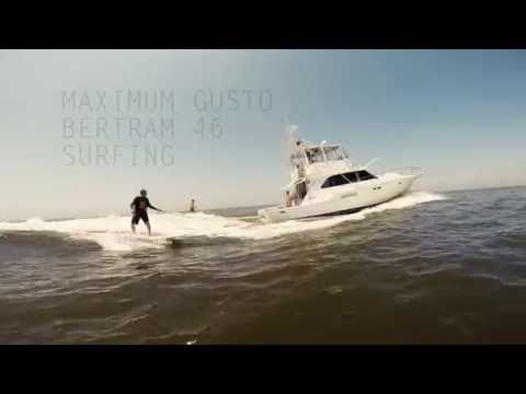 Bertram 46 Surfing - Maximum Gusto