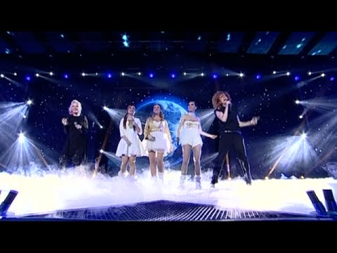 Поли Генова и Люси Дяковска - Man In The Mirror - X Factor (24.12.2015)