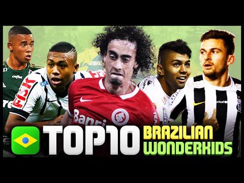 Top 10 Brazilian Young Talents ● football 2015