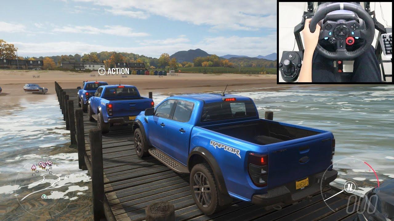 Ford Ranger Raptor - Forza Horizon 4 Online | Logitech g29 gameplay