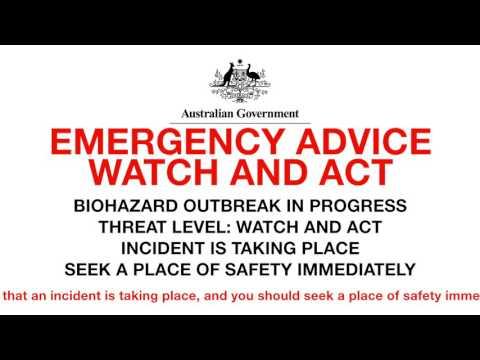 The Final Minutes Australia: ZOMBIE PLAGUE - Part One