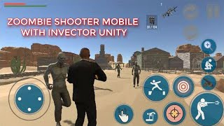zombie shooter game moḃile / android with invector unity