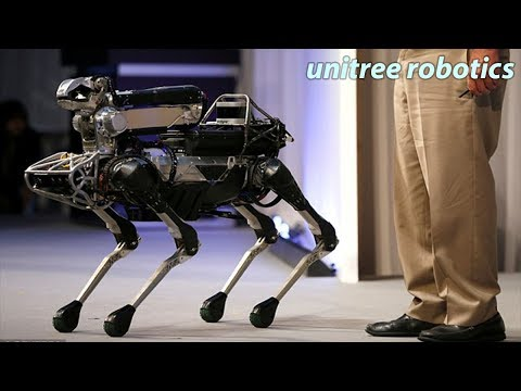 Unitree Robotics's Laikago In Iros Exhibition Close Observation-2020