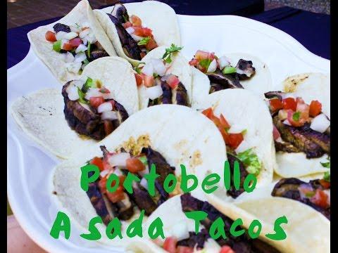 Portabello Mushroom Asada Tacos