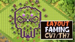 clash of clans-Layout FARMING CV7/TH7