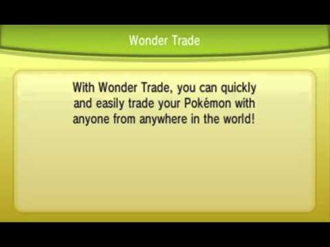 Pokemon X And Y - Wonder Trade Tips