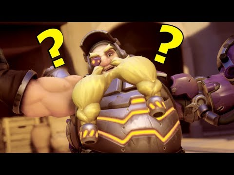 """PURE SKILL"" PLAYS  IN OVERWATCH thumbnail"