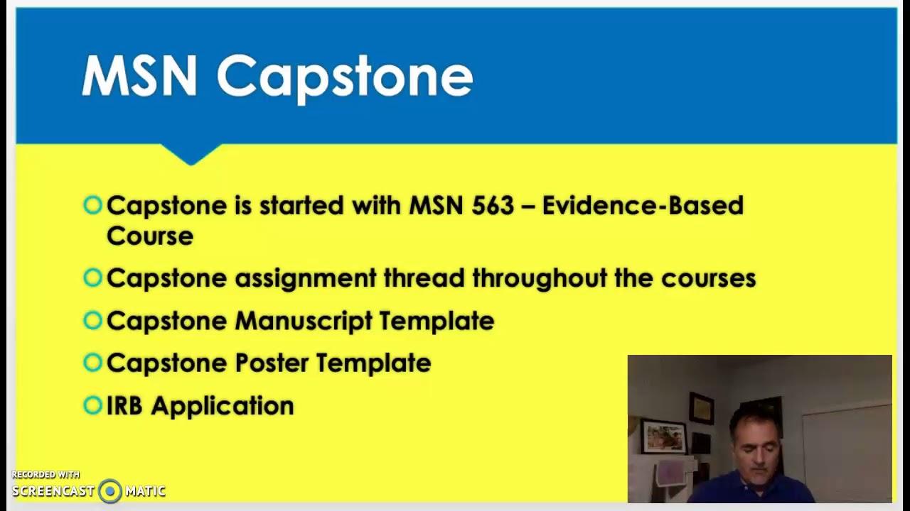 MSN Capstone