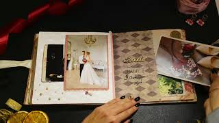 Свадебный альбом Wedding Love - ручная работа!