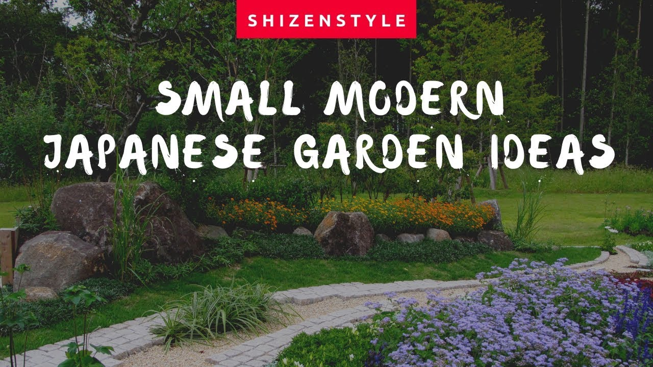 Small Modern Japanese Garden Ideas