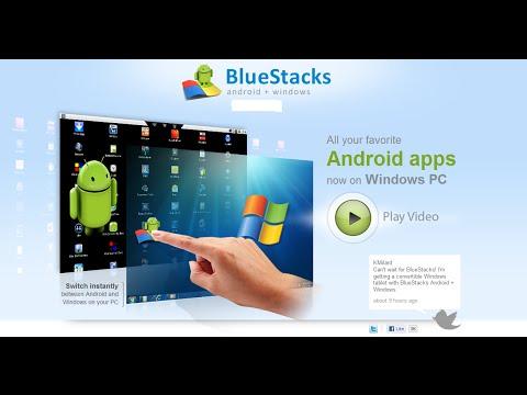 how to install bluestack android emulator offline