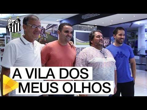 """""""A Vila dos meus Olhos"""" traz fotos marcantes do centenário do Estádio"""