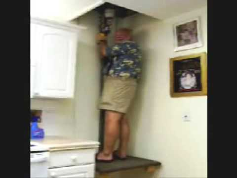Homebuilt 100 Elevator See Newer Video Http Tinyurl 4mzmw6g You