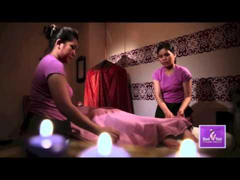 Смотреть Вай Тай  тайский массаж. Райское удовольствие в 4 руки.