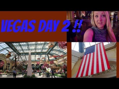 USA TRAVEL VLOG - LAS VEGAS DAY 2 ! BELLAGIO, PETER LIK GALLERY, SHOPPING ...