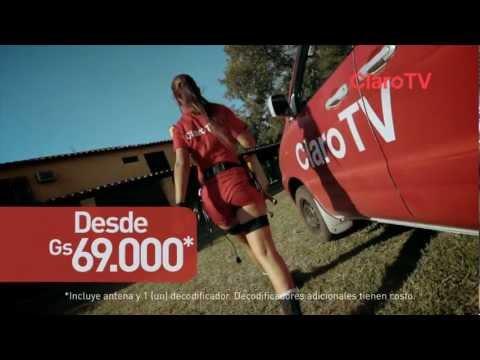 Los Instaladores Promo Brasil & Adultos Claro TV Paraguay
