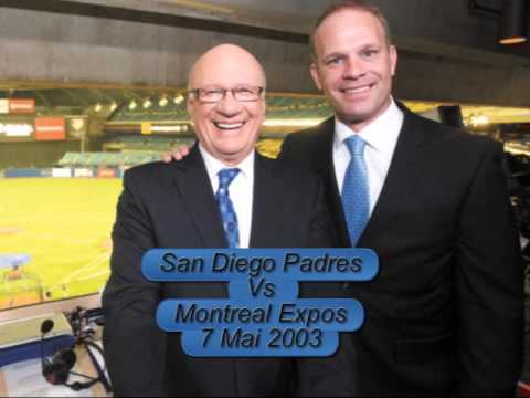 San Diego Padres VS Montreal Expos - 07\05\2003 - Match Radio Complet - avec Jacques Doucet