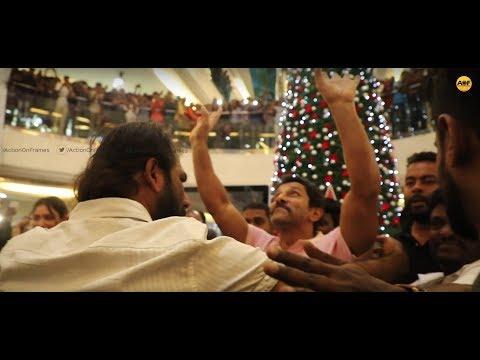 വിക്രത്തിന്റെ മരണ മാസ് എൻട്രി I Chiyaan Vikram & Tamannaah in Oberon Mall Kochi