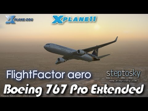 Flight Factor StepToSky Boeing 767 Pro Extended For X