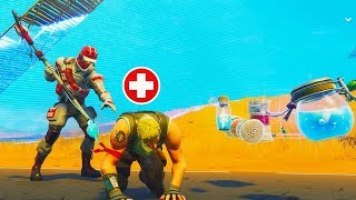 The MEDIC CHALLENGE in Fortnite Battle Royale!