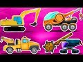Excavator | Formation And Uses | Street Vehicle Videos by Kids Channel