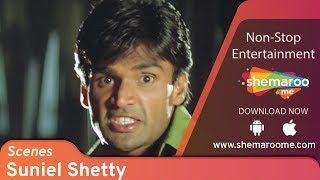 Best Bollywood Action Scenes   Suneil Shetty   Raghuveer   90's Best Bollywood Scenes