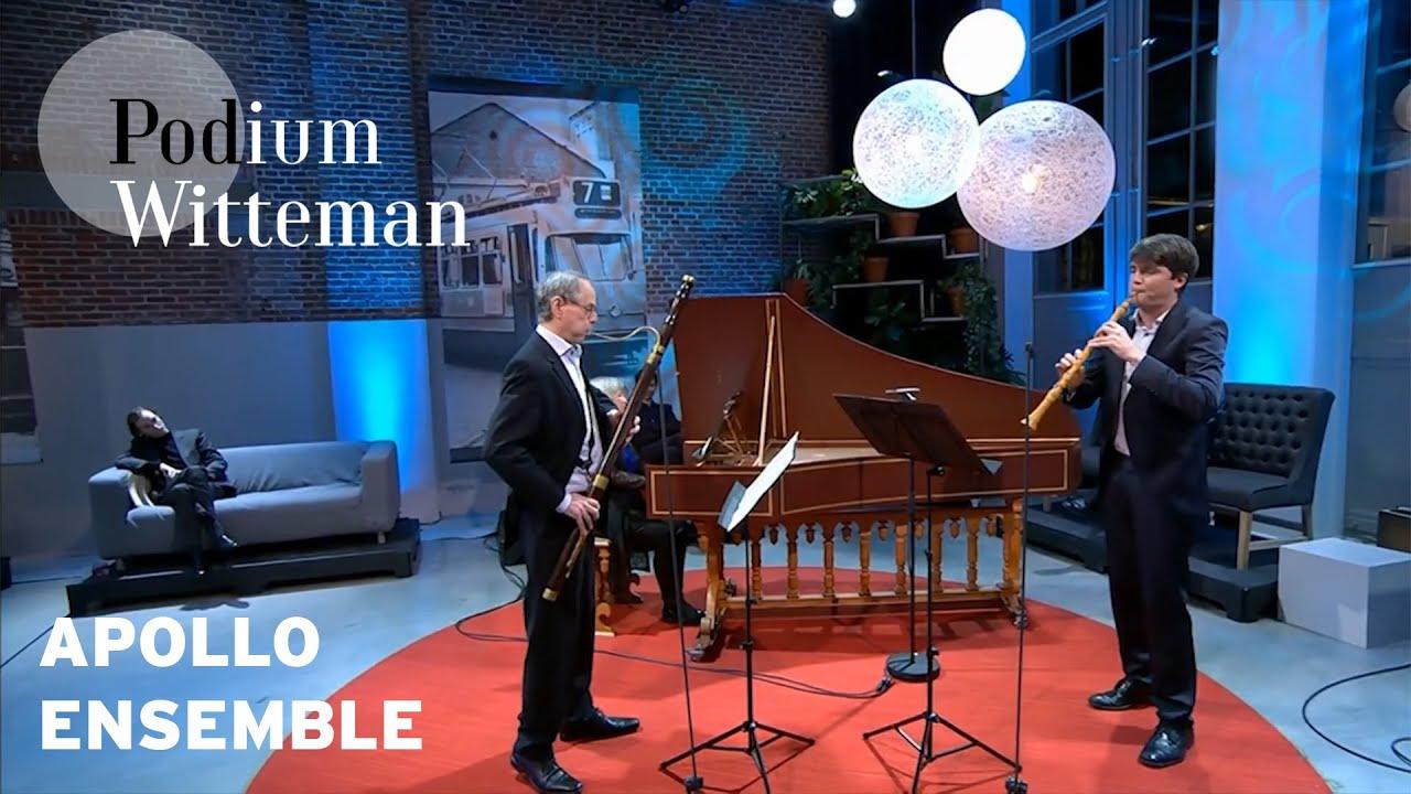 Apollo Ensemble - Hobosonate in g: Adagio & Allegro - C.P.E. Bach | Podium Witteman