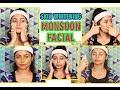 Skin Whitening Monsoon Facial At Home/Total Monsoon Skin Care/Parna's Beauty World