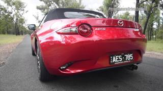 2016 Mazda MX-5 1.5L (manual) 0-100km/h & engine sound