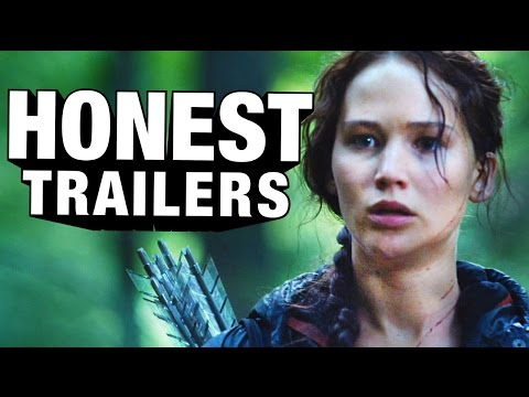 Honest Trailers - The Hunger Games poster