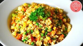 Cauliflower Fried Rice - Жареный рис из цветной капусты