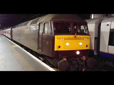 Trains at Euston. Charter.