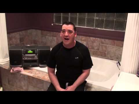 """Give"" Jason Crabb Cover Practice In the Bathroom by Jamey Pittman"