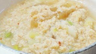 콩탕 만드는법 콩비지찌개 보다 100배 맛있는 …