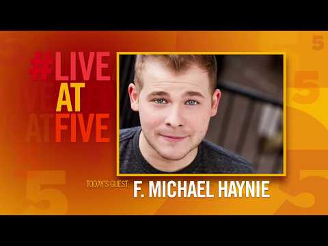 Broadway.com #LiveatFive with F. Michael Haynie of CHARLIE AND THE CHOCOLATE FACTORY
