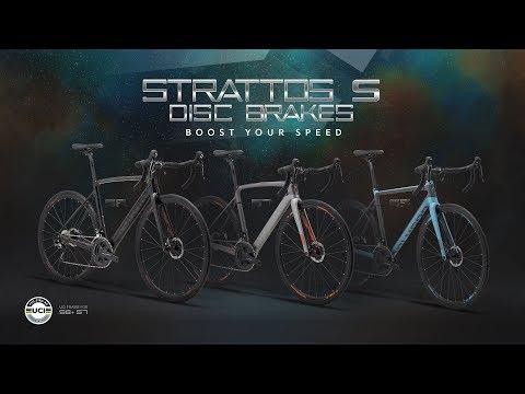 Polygon Road Bike Strattos S Disc Brakes Youtube