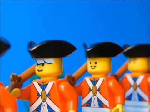 Lego American Revolution Bunker Hill - YouTube